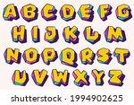 alphabet in cubic children... | Shutterstock .eps vector #1994902625