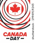 happy canada day. national...   Shutterstock .eps vector #1994919245