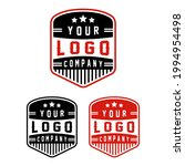 designs badge logo company...   Shutterstock .eps vector #1994954498