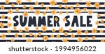 summer sale banner with flowers ...   Shutterstock .eps vector #1994956022