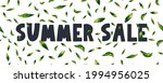 summer sale banner with flowers ...   Shutterstock .eps vector #1994956025