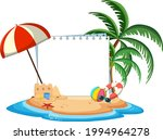 empty banner template with...   Shutterstock .eps vector #1994964278