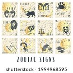 set of zodiac signs icons in...   Shutterstock .eps vector #1994968595