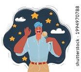 cartoon vector illustration of...   Shutterstock .eps vector #1994970788