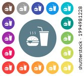 fast food menu with... | Shutterstock .eps vector #1994981228