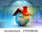 world with roof | Shutterstock . vector #199508048