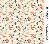 vintage seamless floral pattern.... | Shutterstock .eps vector #1995092018