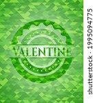 valentine green emblem with... | Shutterstock .eps vector #1995094775