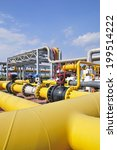 the pipe and valve oil fields  | Shutterstock . vector #199514222
