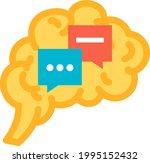 function communication of human ... | Shutterstock .eps vector #1995152432
