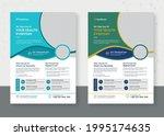 modern medical flyer template...   Shutterstock .eps vector #1995174635
