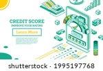 isometric mobile application... | Shutterstock .eps vector #1995197768