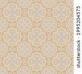 abstract arabesque pattern ...   Shutterstock .eps vector #1995204575
