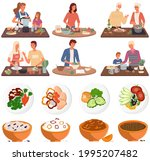 set of illustrations about...   Shutterstock .eps vector #1995207482