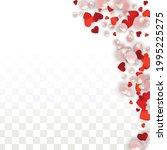 vector realistic petals and... | Shutterstock .eps vector #1995225275