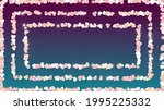 golden background with confetti ... | Shutterstock .eps vector #1995225332