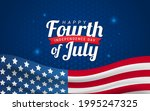 happy fourth of july ... | Shutterstock .eps vector #1995247325