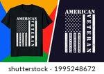 american veteran usa flag t... | Shutterstock .eps vector #1995248672