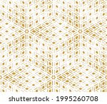 abstract geometric pattern. a... | Shutterstock .eps vector #1995260708