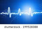 electrocardiogram  ecg... | Shutterstock . vector #199528388