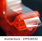 Red Scotch Tape