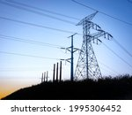 Giant Electricity Pylons And...