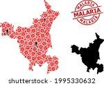 mosaic map of haryana state...   Shutterstock .eps vector #1995330632