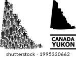 map of yukon province for...   Shutterstock .eps vector #1995330662