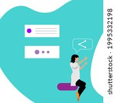 website icon template....   Shutterstock .eps vector #1995332198