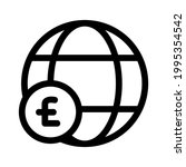 global market icon or logo...   Shutterstock .eps vector #1995354542