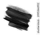 logo black brush stroke paint...   Shutterstock . vector #1995366992