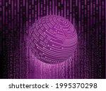 world binary circuit board...   Shutterstock .eps vector #1995370298