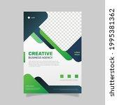 gradient business flyer... | Shutterstock .eps vector #1995381362