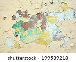 abstract dirt  grunge color... | Shutterstock . vector #199539218