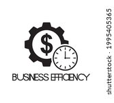 business efficiency icon   time ...   Shutterstock .eps vector #1995405365
