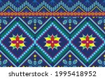 geometric ethnic oriental...   Shutterstock .eps vector #1995418952