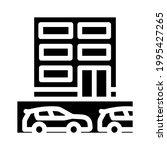 underground parking glyph icon...   Shutterstock .eps vector #1995427265