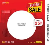 sale and special offer tag ... | Shutterstock .eps vector #1995438698