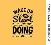 motivational lettering...   Shutterstock .eps vector #1995443672