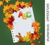 back to school  education... | Shutterstock .eps vector #1995537245