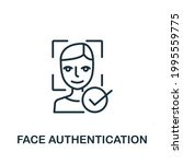 face authentication icon from...   Shutterstock .eps vector #1995559775