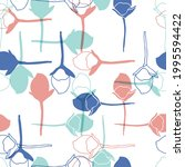 vector floral seamless pattern... | Shutterstock .eps vector #1995594422