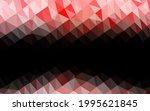 light red vector shining... | Shutterstock .eps vector #1995621845