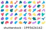 random blobs. abstract blob... | Shutterstock .eps vector #1995626162