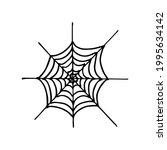 hand drawing cartoon halloween... | Shutterstock .eps vector #1995634142