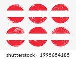 austria flag grunge textures... | Shutterstock .eps vector #1995654185
