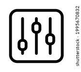 equalizer icon symbol sign free ...