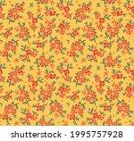 floral pattern. pretty flowers... | Shutterstock .eps vector #1995757928