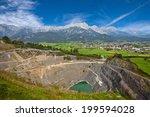 open cast mining in austrian... | Shutterstock . vector #199594028