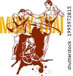 the vector black ink...   Shutterstock .eps vector #1995972815